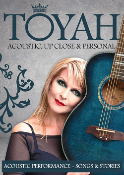 Toyah performs unplugged at Lowdham Book Festival 2015