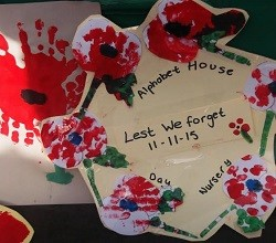 Creativity and remembrance from Alphabet House
