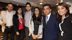 Among the local VIPs at the launch: Nick Singh, Priya Johal, Richard Johal, Alicia Hayer, Dominic Hayer, and Navinder Hayer