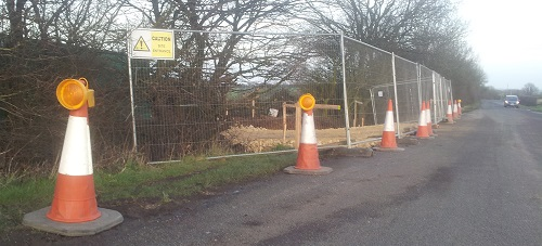 Site preparation began this week despite judicial review next week