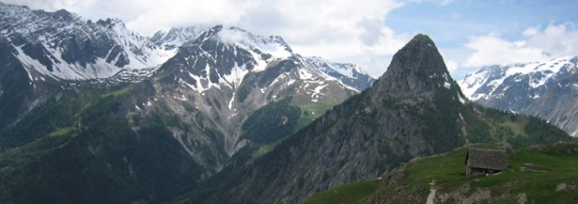 No walk in the park - the challenging terrain around Mont Blanc